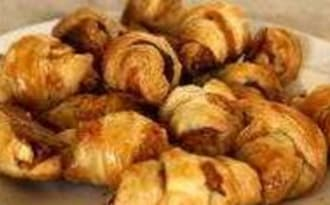 Minis croissants apéritifs