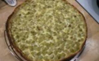 Tarte à la Rhubarbe et sa Pâte d'Amandes