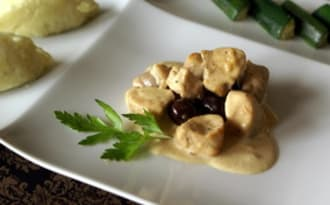 Noisettes de lapin aux olives du Liban
