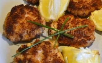 Bouchées de poisson panées aux crevettes