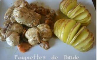 Paupiettes de Dinde et Pommes de terre à la Suédoise