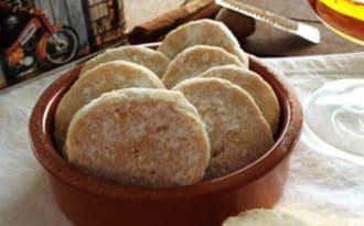 Les biscuits fondants au rhum