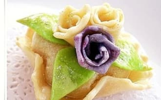 Dziriettes revisitées, coussin de la mariée gâteau algérien