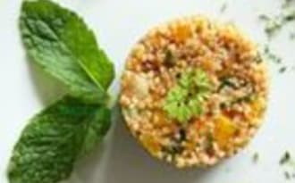 Salade de boulghour à la tomate