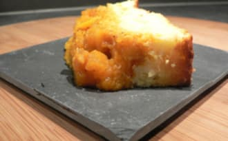 Tatin de courge butternut