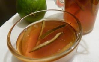 Marmelade de citron vert à la cardamome et au gingembre