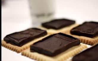 Chloé Délice: Petit Ecolier au chocolat fin maison