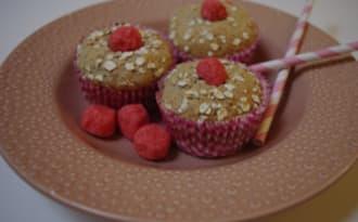 Muffins flocons d'avoine et fraise tagada®