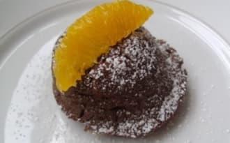 Moelleux chocolat et orange