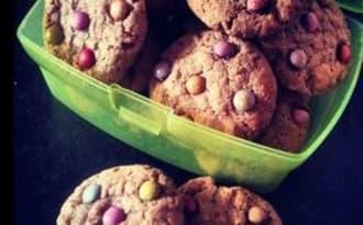 Smartie-cookies