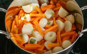Légumes glacés