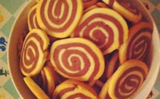 Les sablés spirales vanille-chocolat