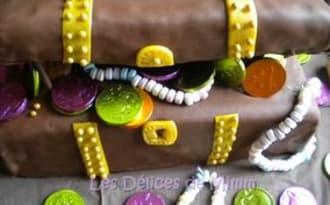 """Gâteau """"La malle aux trésors"""""""