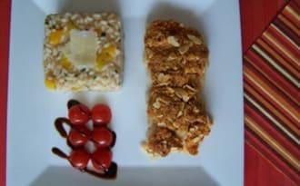 Filet de poisson & risotto