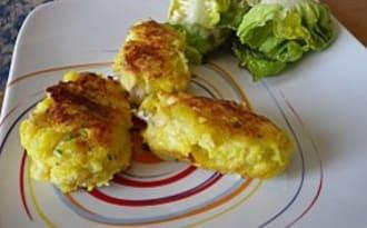 Galettes de poisson au citron et safran