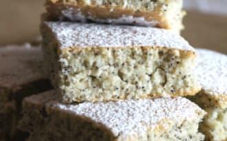 Gâteau aux tâches de rousseurs