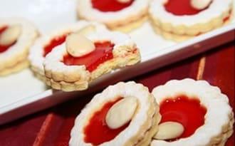 Mini tartelettes à la confiture de cerises