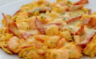 Omelette terre mer