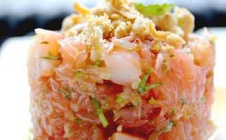Salade Thaïe de Pamplemousse Crevettes