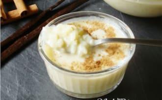 Riz au lait vanillé