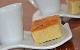petit gâteau vanille/amande