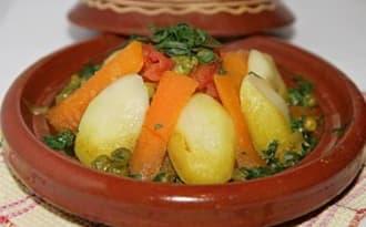 Tajine marocain aux légumes