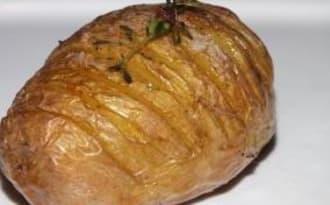 Pomme de terre rôtie au thym