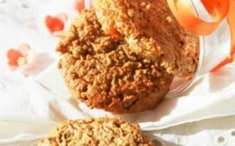 Le 3 A, biscuit top moelleux Avoine, Amandes et Abricots secs