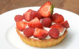 Tartelettes fraise-framboise