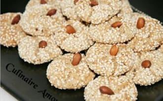 Ghriba aux amandes, noix et noix de coco