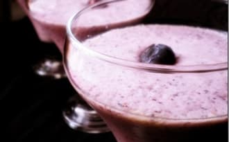 Smoothie au blueberry