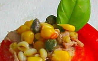 Tomates Farcies au Blé et au Thon