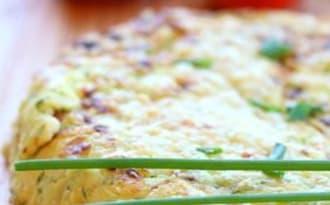 Maxi galette courgette, ricota et zeste de citron