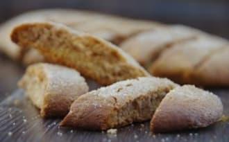 Biscuits croquants marbrés