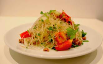 Salade de Vermicelles de Soja à la Thaïe