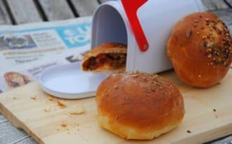 Bun's ou petits pains farcis à la viande