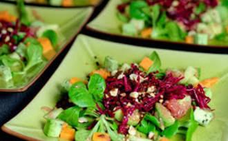 Salade de betterave crue