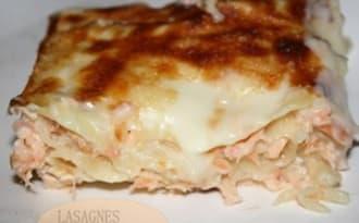 Lasagnes au deux saumon