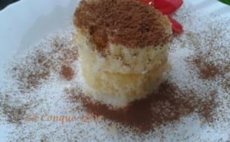 Petit gâteau de pandoro à la crème mascarpone et Limoncello