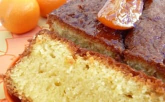 Cake à la clémentine corse