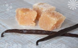 Pâtes de coings à la vanille