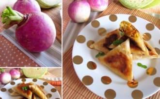 Samossas aux légumes d'hiver