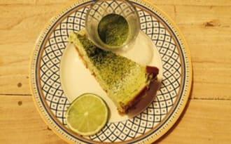 Cheesecake au thé vert du Japon