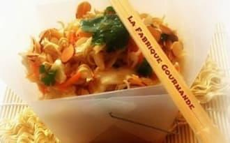 Ramen Coleslaw :Salade de chou et nouilles croquantes chinoise