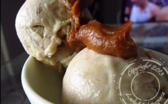 Nice cream au beurre de cacahuètes – sans sorbetière