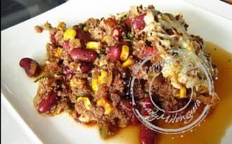 Chili con carne gratiné