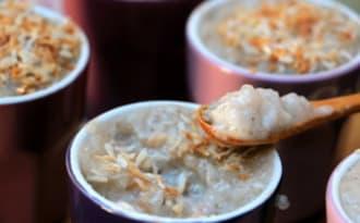Crème de coco au tapioca