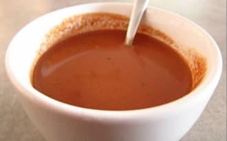 Chocolat chaud à l'ancienne aux épices