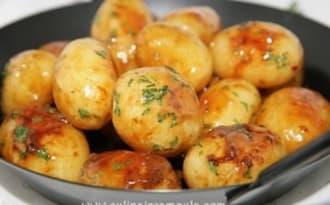 Petites pommes de terre au miel
