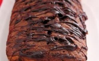 marbré chocolat/orange